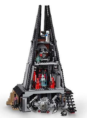 LEGO Star Wars 75251 Castillo de Darth Vader | Darth Vader's Castle  Producto Oficial 2018 | Piezas: 1060 | Edad: +9 años  COMPRAR ESTE JUGUETE