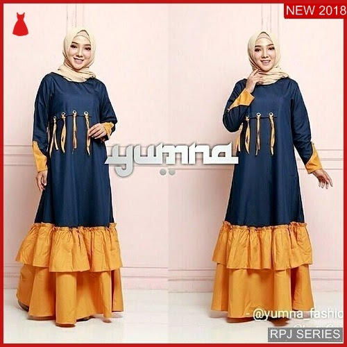 RPJ020D88 Model Dress Yumna Cantik Dress Wanita