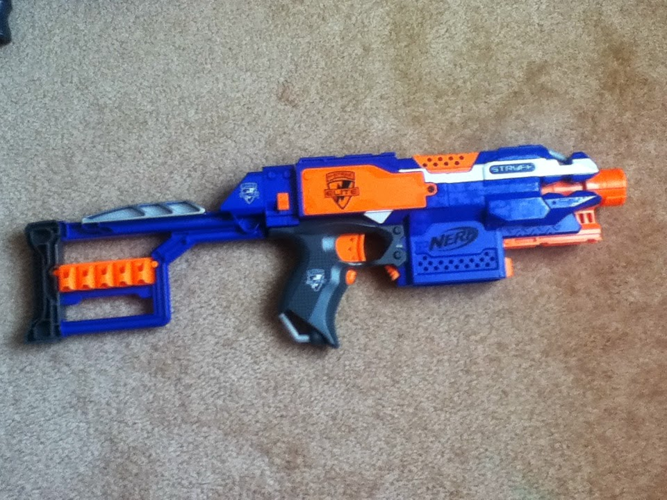 What Time Does Outback Open >> Outback Nerf: Nerf Elite Stockade Review (15m Aus grey trigger)