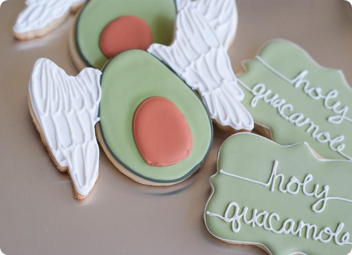 Holy Guacamole Cookies
