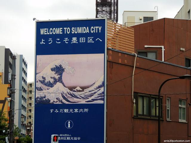 Bienvenida a Sumida City, Tokio