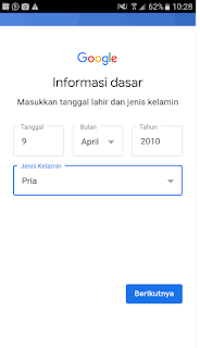 cara bikin email baru di hp android