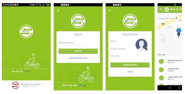 MO CYCLE (Bhubaneswar, Cuttack, Puri) Transport Mobile App