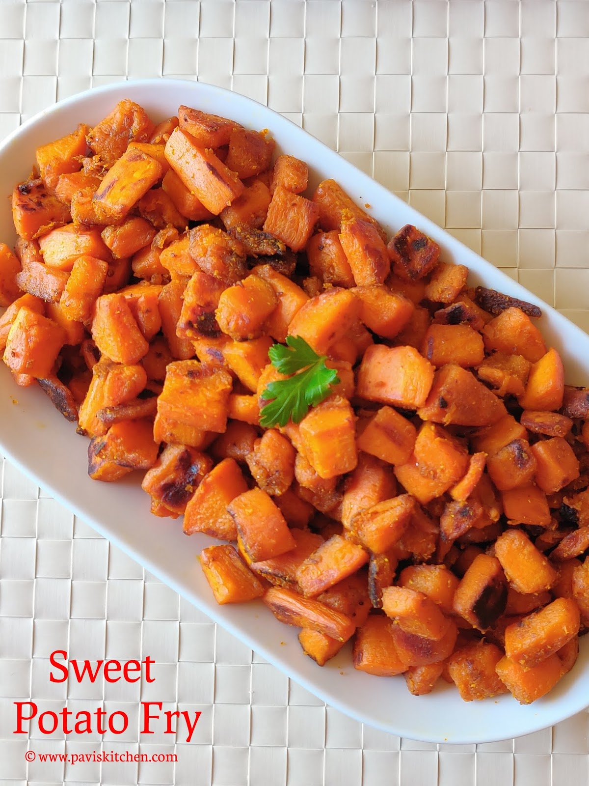 Sweet Potato Fry | Sakkaravalli Kizhangu Varuval | Potato Fry Recipe