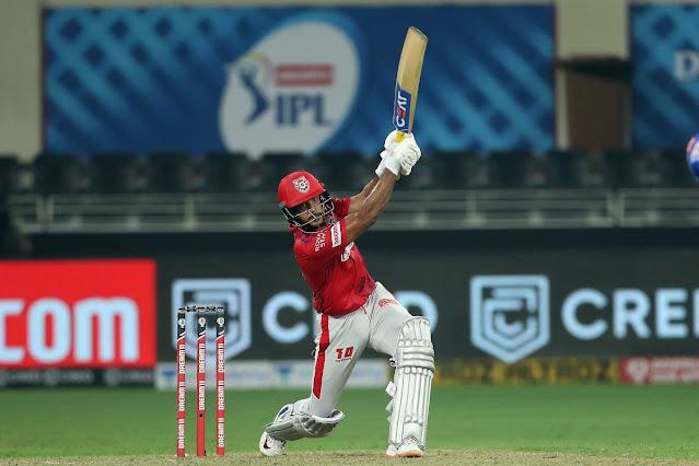 IPL 2020, डीसी बनाम KXIPs क्रिकेट मैच में किंग्स इलेवन पंजाब को हराया।