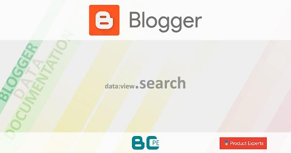 Blogger - data:view.search