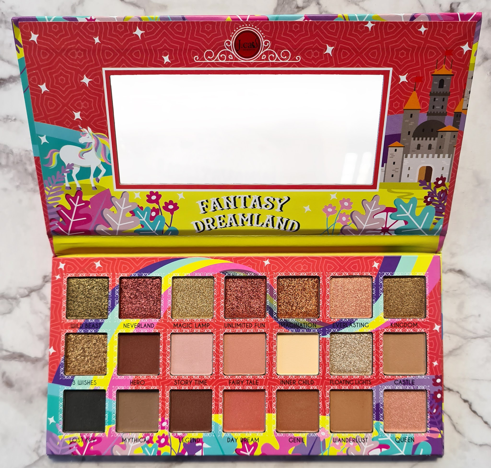 Recommended and affordable eyeshadow palette