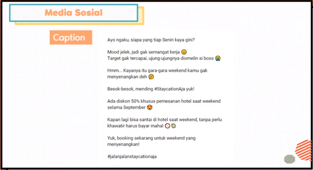 Contoh Copywriting Media Sosial Instagram