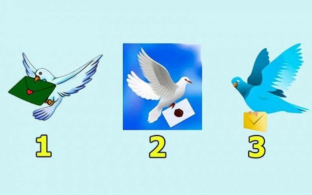Select One Dove, And Read Your Letter!