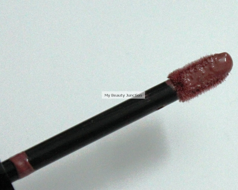 Swatch and review of Bare Minerals Pretty Amazing Lipcolor in Courage