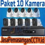 Paket Pasang CCTV 10 Kamera
