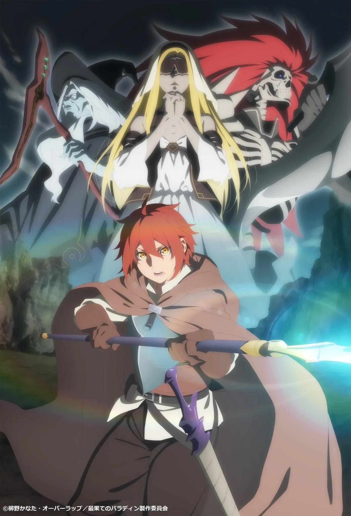 Anime Saihate no Paladin Divulga seu Terceiro Vídeo Promocional e Visual Chave