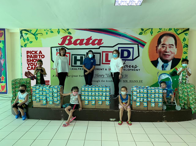 WALKING TOGETHER WITH BATA AND CHILDHAUS
