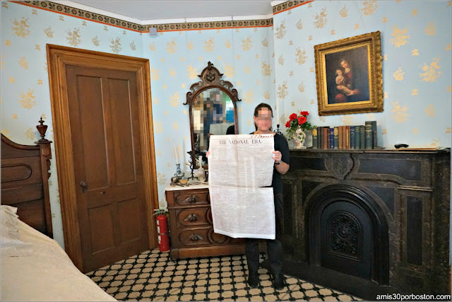 National Era en la Casa Museo de Harriet Beecher Stowe en Hartford, Connecticut