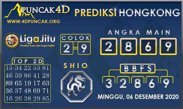 PREDIKSI TOGEL HONGKONG PUNCAK4D 06 DESEMBER 2020