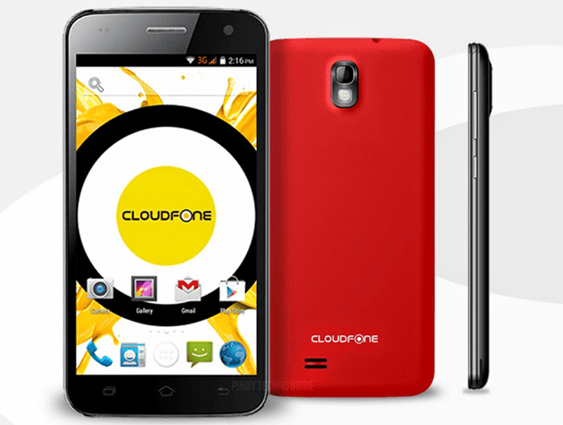 CloudFone 501o Now Priced At 2999 Pesos!