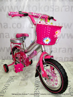 12 Inch Family Girl Power Kids Bike