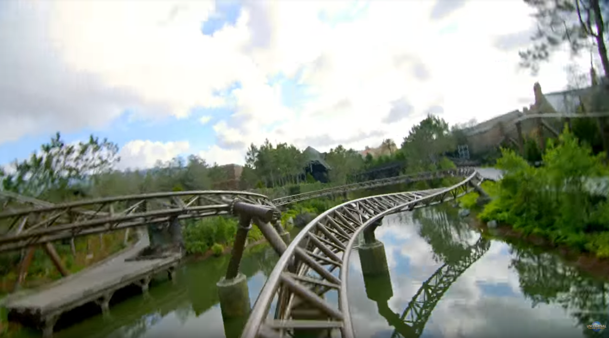 Soft Opening's For Hagrid's Magical Creatures Motorbike Adventure? +