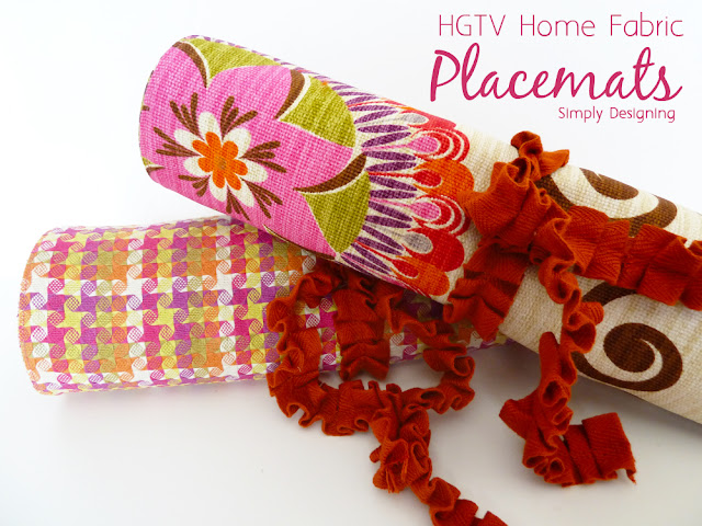 placemats 08a HGTV Home Decor Fabric Placemats 22