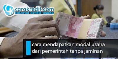 Pinjaman kur dari pemerintah untuk rakyat kecil