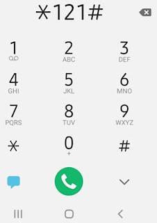 airtel balance check dial star121hash