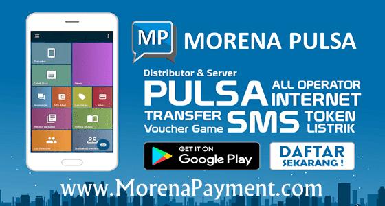 MorenaPayment.com Web Resmi Server Morena Pulsa Murah CV Jasa Payment Solution