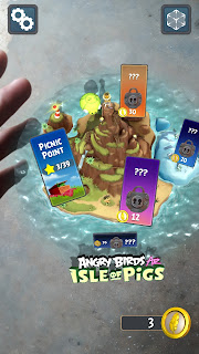 Pulau Augmented Reality keren game Angry Birds