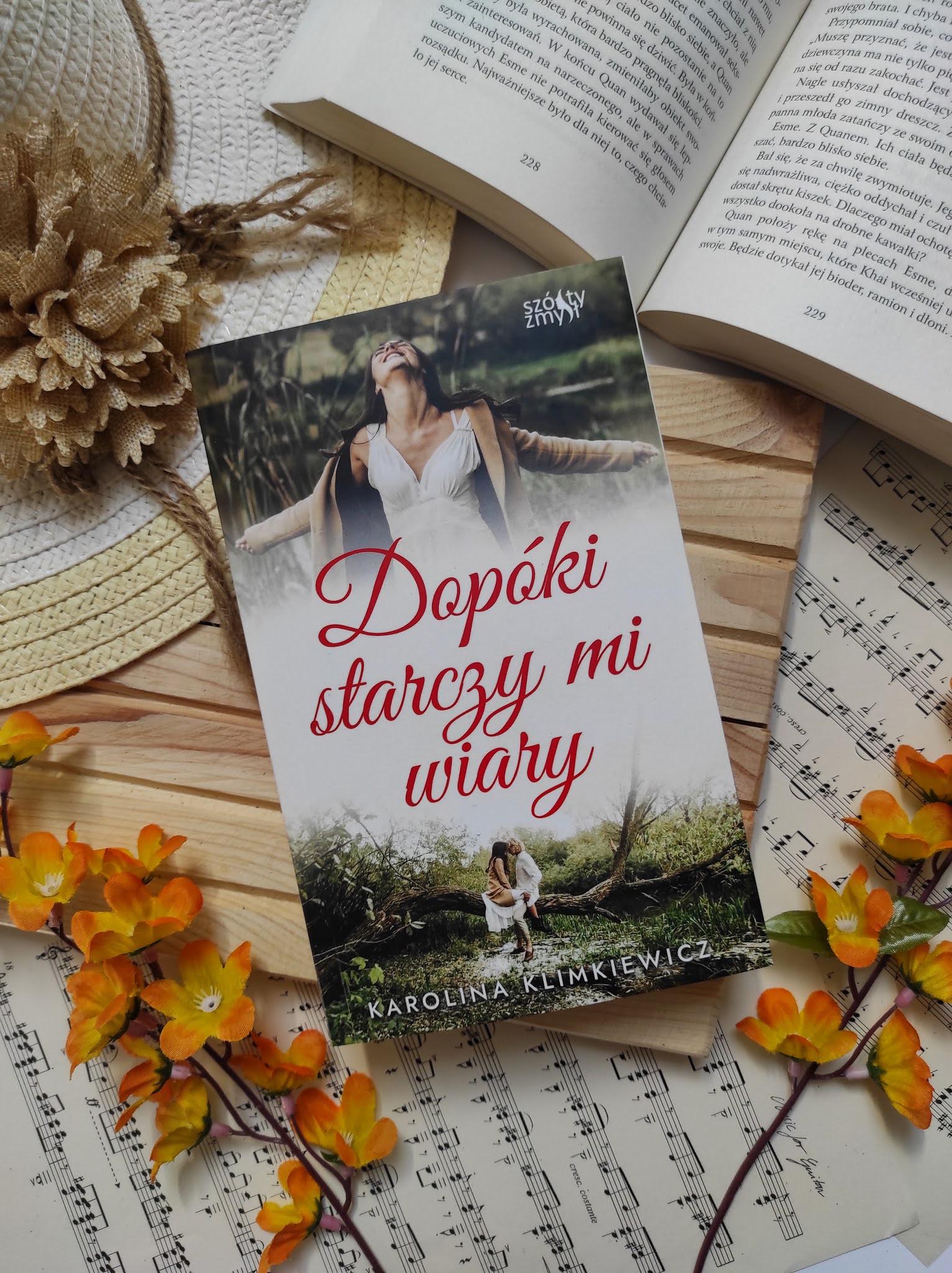 """""""Dopóki starczy mi wiary"""" Karolina Klimkiewicz"""