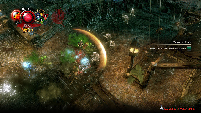 Overlord Fellowship of Evil Gameplay Screenshot 4