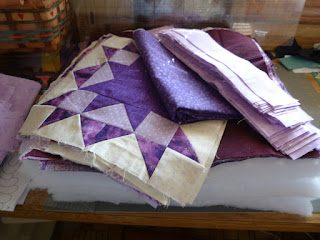My quilting life pic