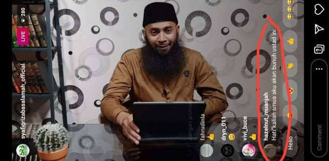Setelah Syekh Ali Jaber, Ustadz Syafiq Basalamah Dapat Ancaman Pembunuhan