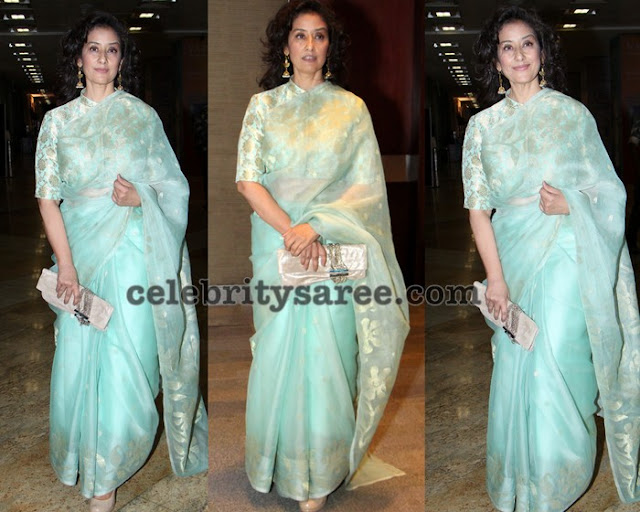 Manisha Koirala Net Fancy Saree