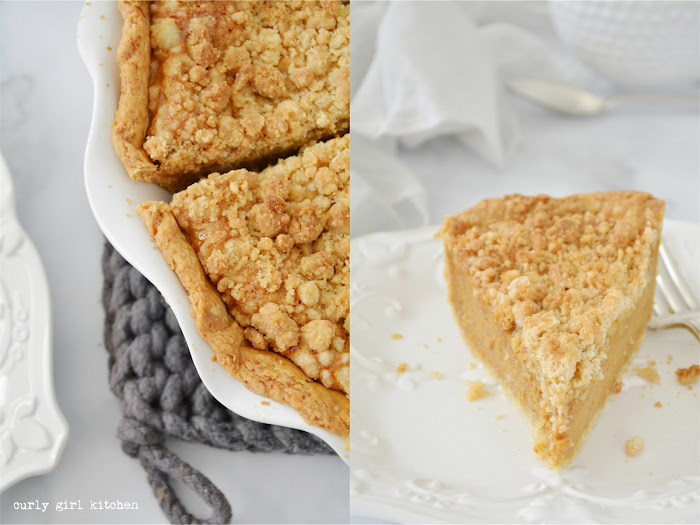Pumpkin Pie, Bourbon Pumpkin Pie, Pumpkin Crumb Pie, Pumpkin Pie with Crumb Topping, Thanksgiving Recipes, Pumpkin Recipes