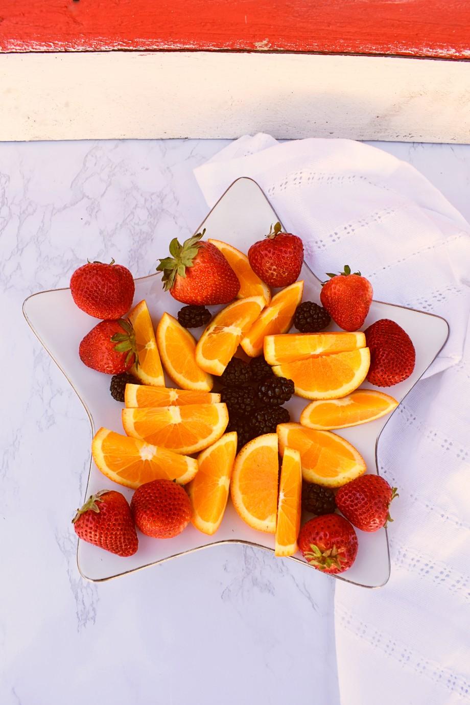 Memorial Day Fruit Tray