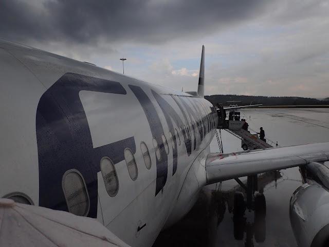 A320 Finnaira w Krakowie