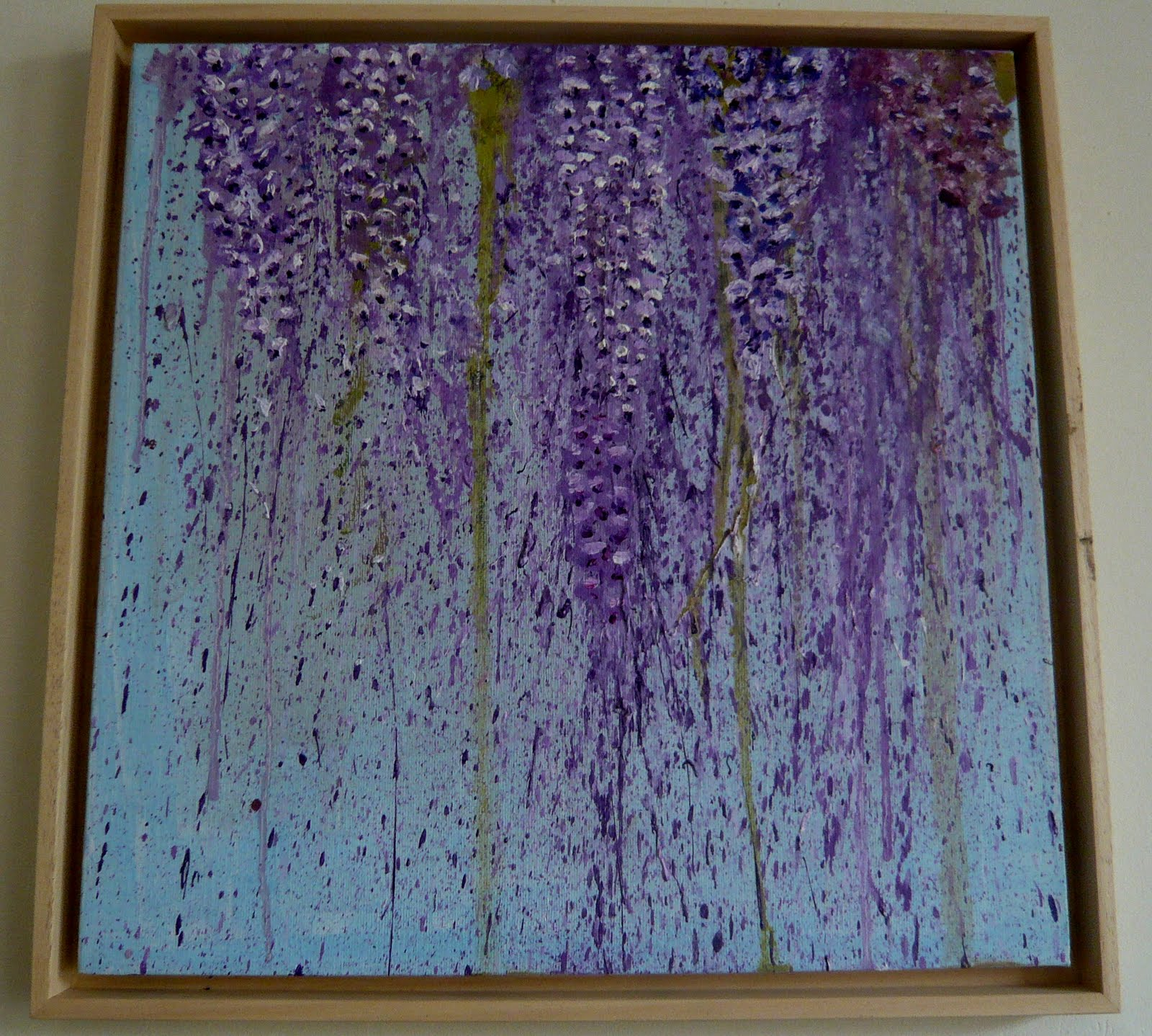 Stitches Etc Wisteria Painting