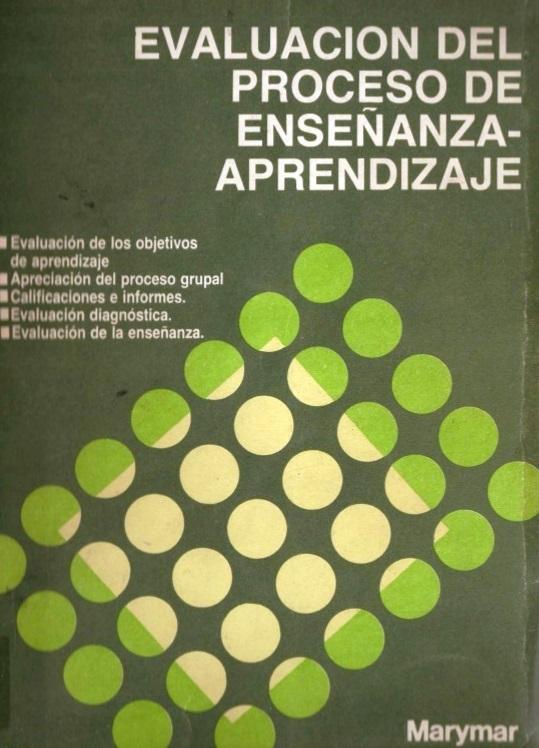 Evaluación del proceso de Enseñanza-Aprendizaje – Susana Avolio de Cols