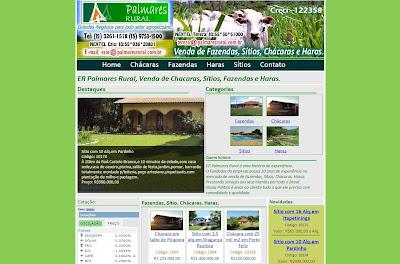 imobiliária palmares rural porto feliz