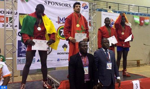 Le Maroc champion d'Afrique de Sambo.
