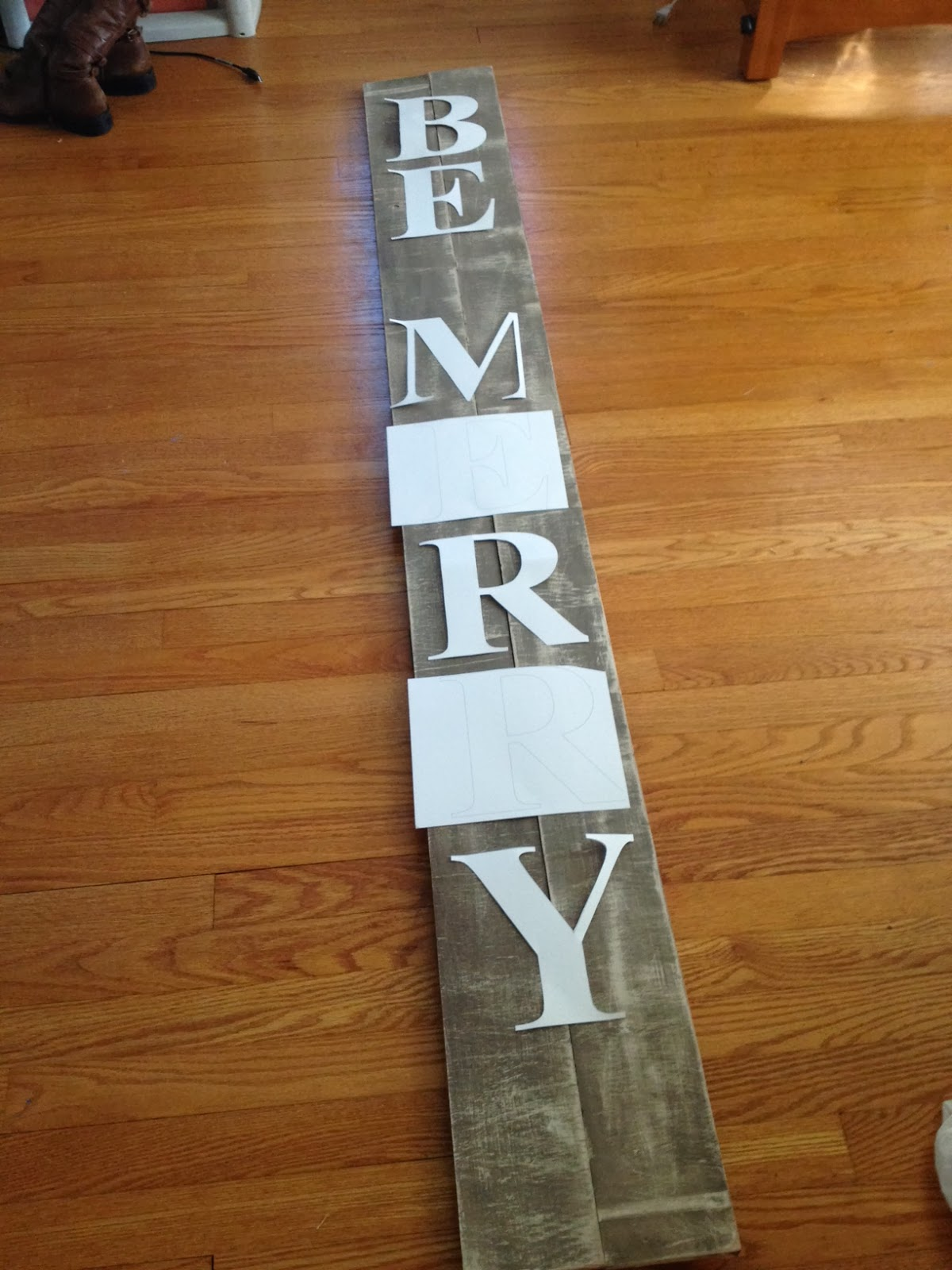 Two It Yourself Diy Large Christmas Sign Pottery Barn