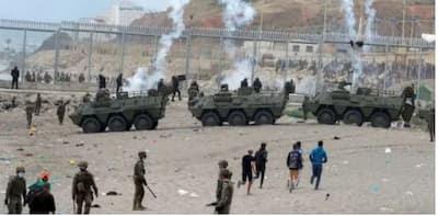 إسبانيا تفقد أعصابها و تطلق النار على مواطنين مغاربة