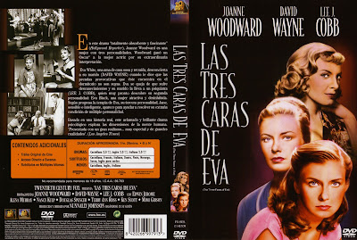 DVD Covers Movie DVD Scanned Covers The Three Faces of Eva 1957