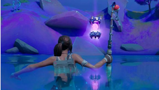 Where location of the alien artifacts from Week 3 fortnite
