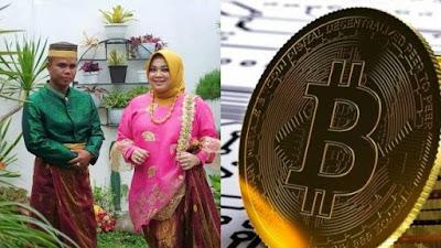 Gokil! Wanita Di Bulukumba Dilamar Kekasih Pakai Bitcoin 2 Keping Senilai 1,7 Miliar