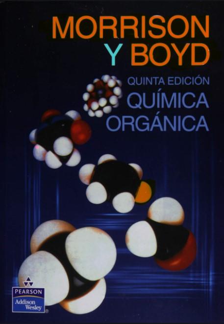 Química Orgánica.5ta Edición  Morrison y Boyd en pdf