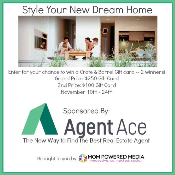 Enter the Agent Ace Crate & Barrel Giveaway. Ends 11/24.