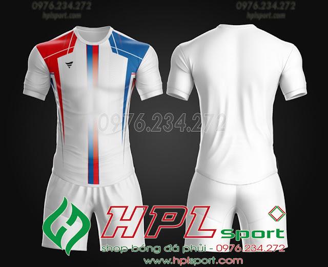 Áo ko logo TA THD màu trắng