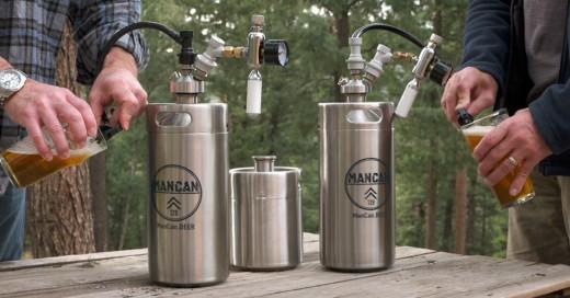 ManCan 128 Un auténtico Barril de Cerveza