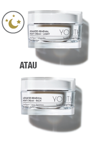 youth advance renewal night cream, youth night cream