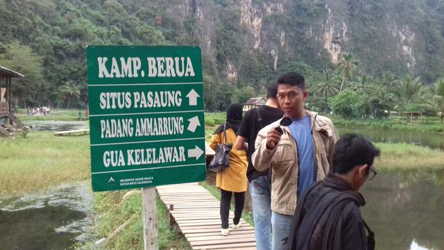 jalan-jalan Di Gunung Karst Rammang-Rammang